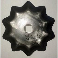 COLTELLO CIRCOLARE DENTATO Dimensioni mm 95x5 foro 10,5 Produzione Germania