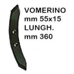 VOMERINO CHISEL REVERSIBILE 55X15X360 INTER. mm60