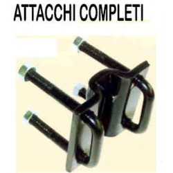 ATTACCO 2 SPIRE 30X30 T.80X80 COMPLETO ECONOMICO