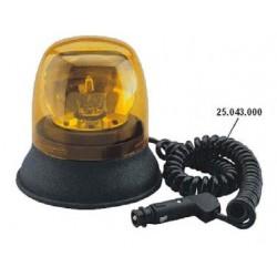 FARO ROTANTE COBO con base MAGNETICA + lampadina 12V