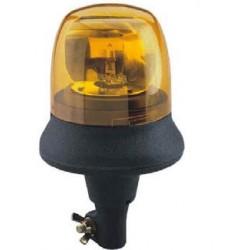 LAMPEGGIANTE - FARO ROTANTE COBO PICCOLO con supporto elastico FLESSIBILE + lampadina