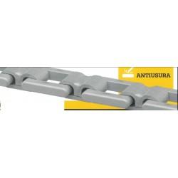 CATENA 80•12 CON ANELLO 25MnB5 LACCIO HARDOX 450 C.R. kg.  18.000 (80/12/W)