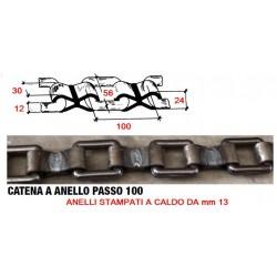 CATENA 100•13 CON ANELLO STAMPATO