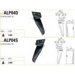 DENTE ALPEGO TIPO NUOVO DF-N 100X12X300 INT.60 INCLINATO (ALP04)