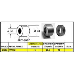 DISTANZIALE mm d 40x5 foro 20,5 (mat. C15)