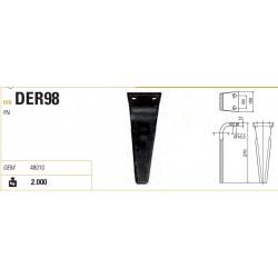 DENTE FERABOLI FN 100X12X270 d.16,5 INT.60 STAMPATO
