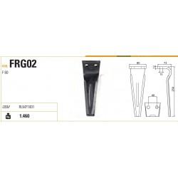 DENTE FORIGO-ROTERITALIA 80X12X250 INT.40
