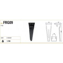 DENTE FORIGO-ROTERITALIA 95X12X280 INT.40