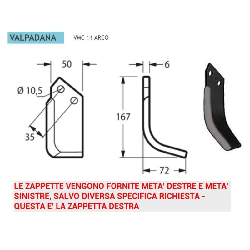 Zappetta valpadana vmc14 val08 ricambiagricolionline for Valpadana motocoltivatori