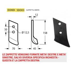 ZAPPINA DONDI DBR95 70x12 INT. 50 SDO03