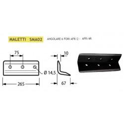 ANGOLARE MALETTI 6 FORI INT. 75 SMA02