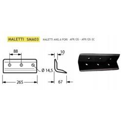 ANGOLARE MALETTI 6 FORI INT. 88 SMA03