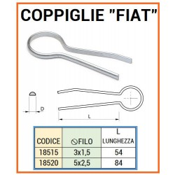 COPPIGLIA TIPO FIAT mm 3