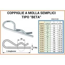 COPPIGLIA A MOLLA mm 6 LUNGA mm 130