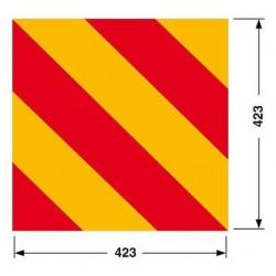 PANNELLO RIFLETTENTE QUADRATO mm 423x423