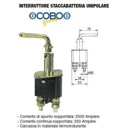 INTERRUTTORE STACCABATTERIA UNIPOLARE COBO 250A