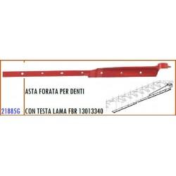 ASTA FORATA PER DENTI CON TESTA LAMA MONTATA GASPARDO FBR - 13013340 - ORIGINALE