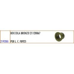 BOCCOLA BRONZO 21120067 PER L. C. GASPARDO FB 925 - ORIGINALE