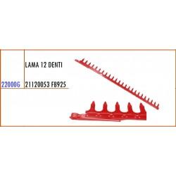 LAMA 12 DENTI 21120053 GASPARDO FB925 - ORIGINALE