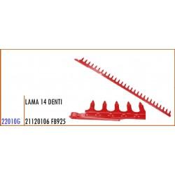 LAMA 14 DENTI 21120106 GASPARDO FB925 - ORIGINALE
