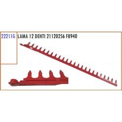 LAMA 12 DENTI 21120256 GASPARDO FB940 - ORIGINALE
