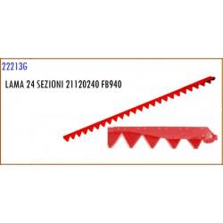 LAMA 24 SEZIONI 21120240 GASPARDO FB940 - ORIGINALE