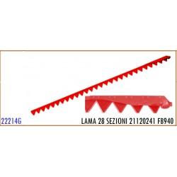 LAMA 28 SEZIONI 21120241 GASPARDO FB940 - ORIGINALE